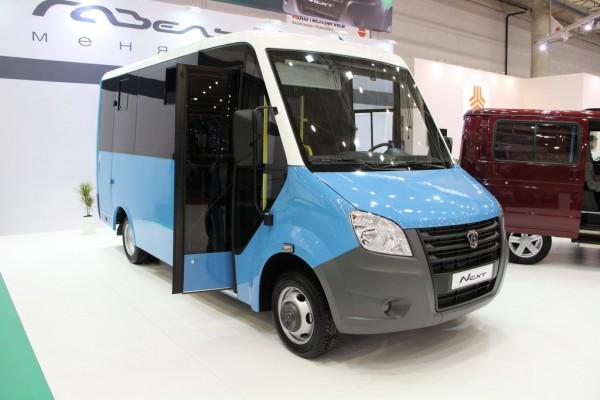 SIA 2013: ГАЗель-NEXT. Пассажирский автобус (ГАЗ-А63R42)
