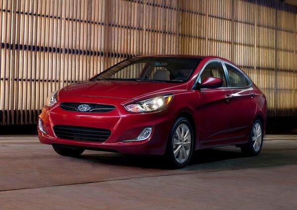 Hyundai Accent – 3 место по итогам квартала и 2 в апреле