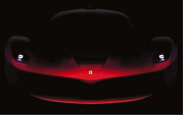 Тирез нового суперкара Ferrari