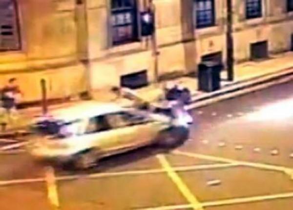Водитель даже не пытался тормозить, он поджидал пешеходов