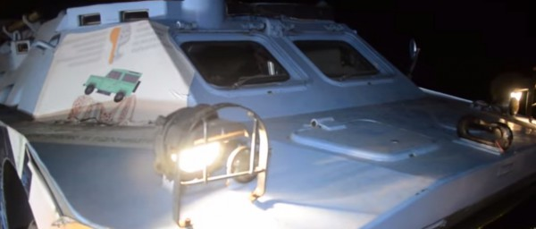 Машину скоро отправят под Донецк