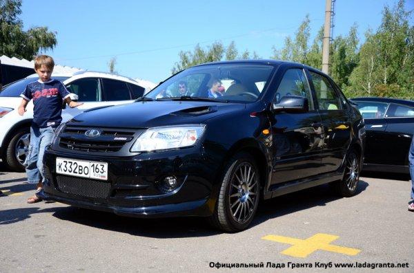 Гражданская (сертифицированная для общих дорог) версия Lada Granta Sport