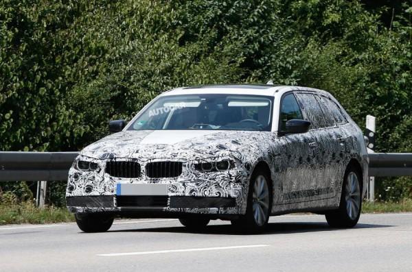 Новый универсал BMW 5-Series Touring