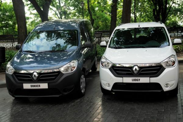 Renault Lodgy и Dokker