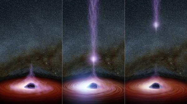 Черная дыра всего в 30 раз превышает диаметр звезды