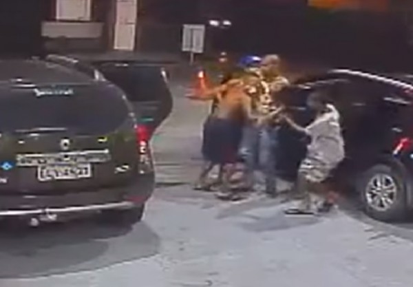 Угон машины в Бразилии