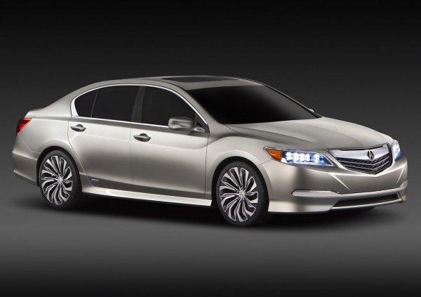Acura RLX – будущий конкурент больших седанов класса люкс