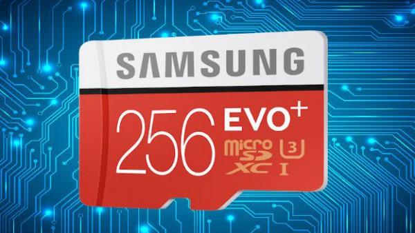 Карта памяти microSD EVO Plus 256GB