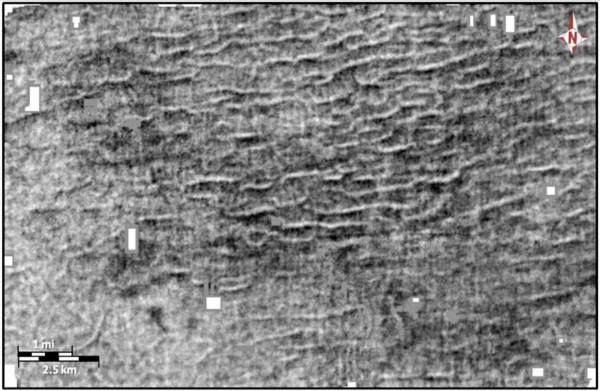 Сейсмическое изображение мегаряби