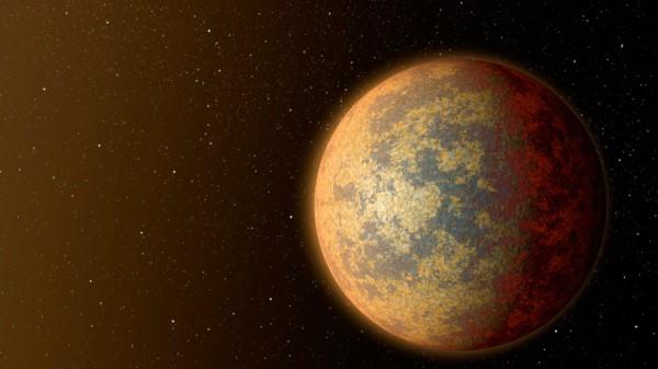 Суперпланета в представлении художников