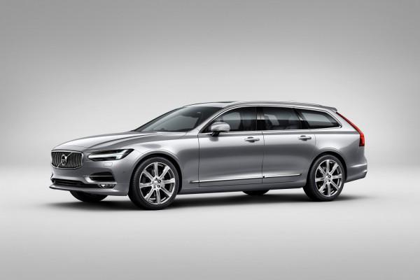 Volvo V90 wagon изнутри и снаружи
