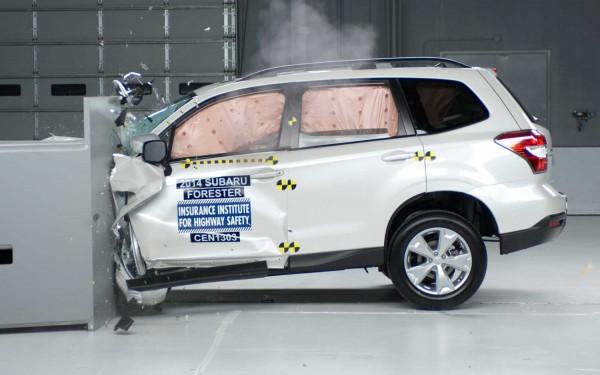 Subaru Forester получил высшую оценку за защиту пассажиров