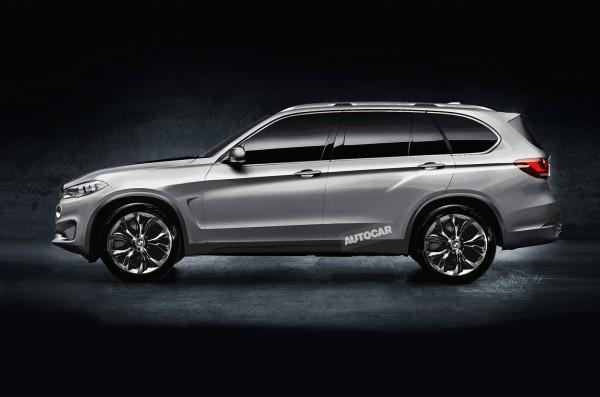 BMW готовит конкурента Мercedes-Benz GL и Lexus LX
