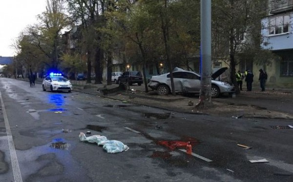 Жуткое ДТП в Одессе