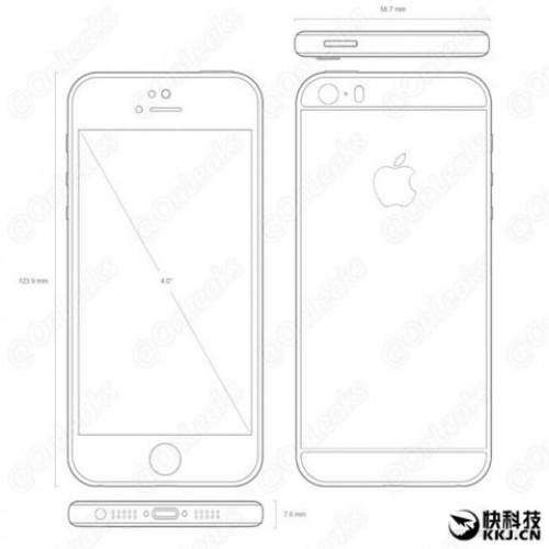Предполагаемый вид iPhone 5se
