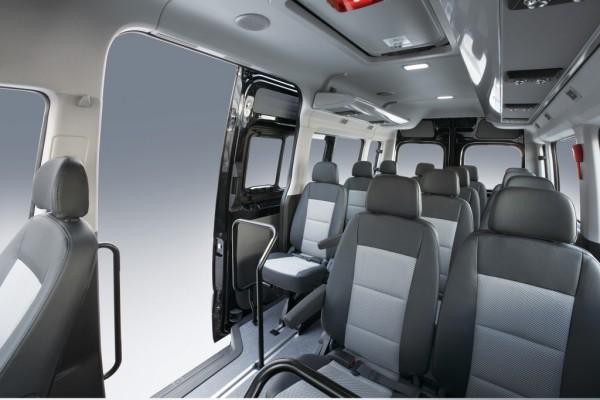 Интерьер Hyundai H350 Minibus