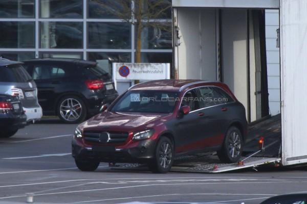 Новый кроссовер Mercedes GLC