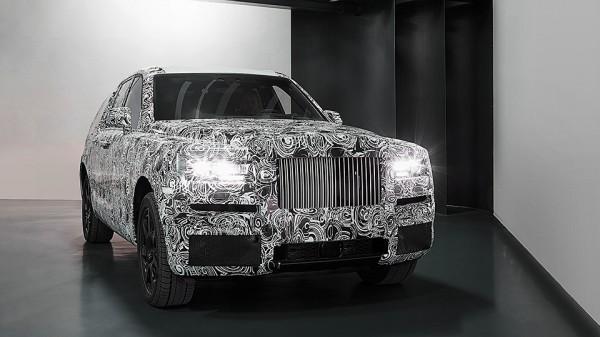 Внедорожник от Rolls-Royce