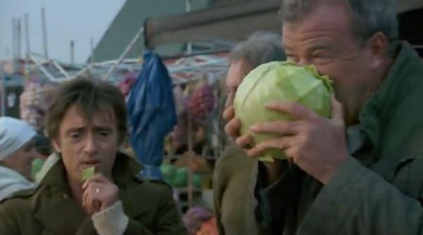 Кларксон купил на базаре капусту