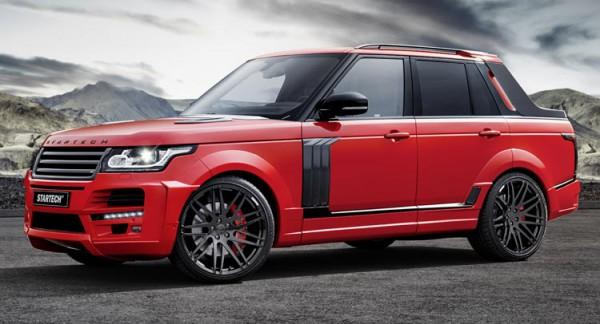Range Rover с кузовом пикап
