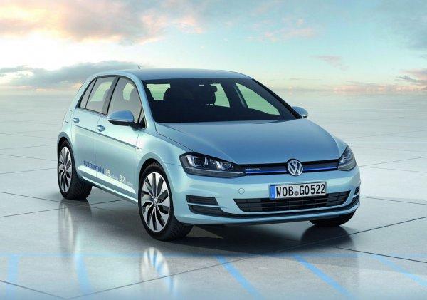 Volkswagen Golf BlueMotion расходует в среднем 3,2 л/100 км