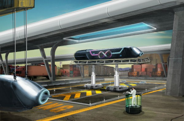 Hyperloop обещают запустить между Лос-Анджелесом и Сан-Франциско