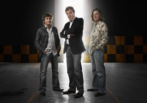 Трио знаменитых ведущих Top Gear