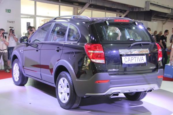 SIA 2013: Chevrolet Captiva - от 253 900 грн