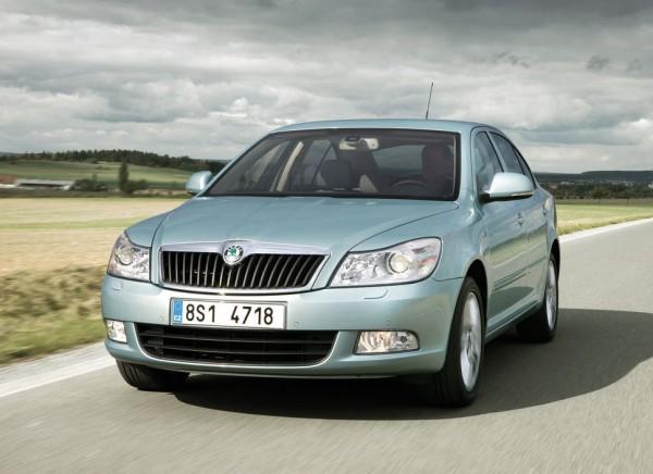 Skoda Octavia - самый продаваемый автомобиль в Украине