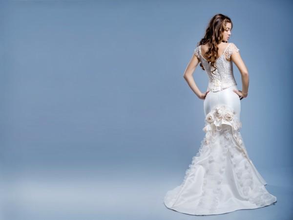 Кому подойдет свадебное платье-рыбка