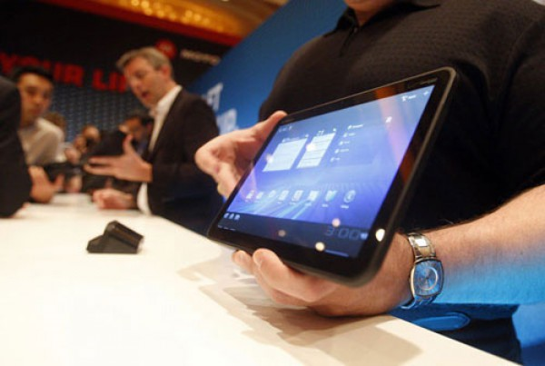 Android появился и на планшетах