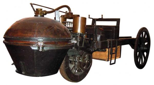 Паровая машина Кюньо