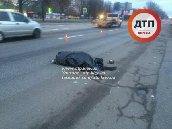Пешеход погиб на месте