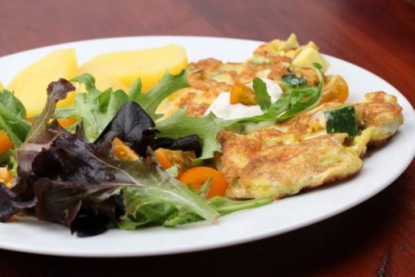 Рецепт                  Кабачки с яйцом