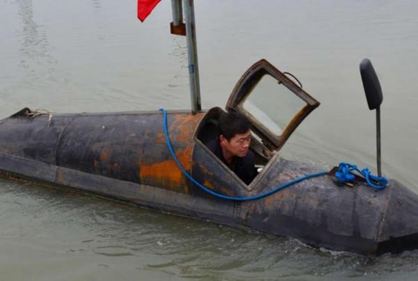 Подводная лодка китайского фермера