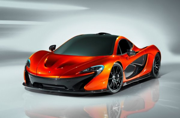 McLaren P1 получил около 960 лошадиных сил