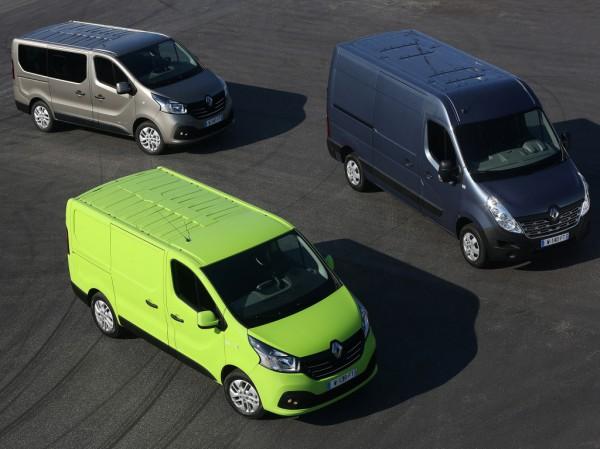 Коммерческие автомобили Renault весьма популярны