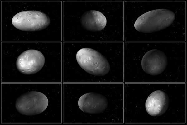 Спутники Плутона двигаются хаотично