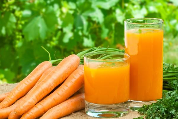Кефирно-морковный напиток