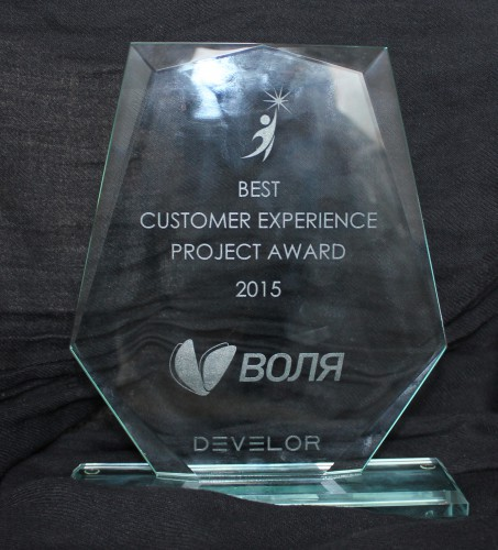 Награда ВОЛИ за лучший проект