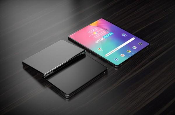 Гибкий планшет от Samsung