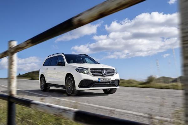 Обновленный Mercedes-Benz GLS