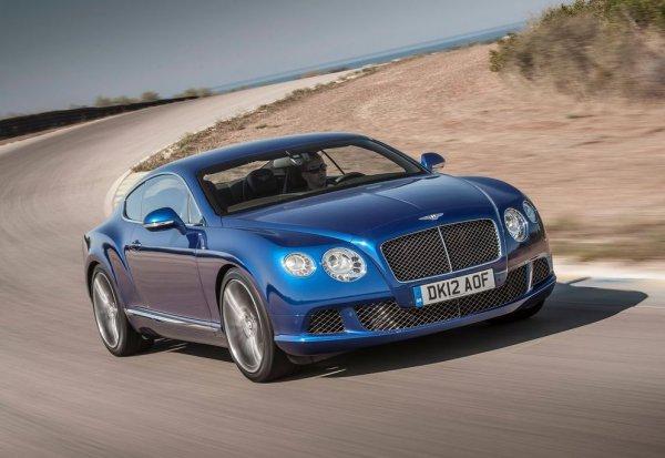 Bentley Continental GT Speed может разогнаться до 330 км/ч