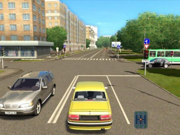 симулятор вождения автомобиля по городу скачать