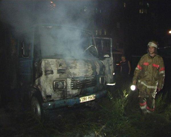 Пожар на Ахматовой
