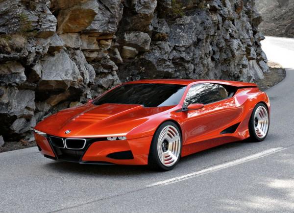 Концептуальный BMW M1, представленный в 2008 году