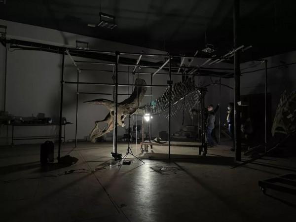 Большой Джон готовится в мастерской Zoic в Триесте, Италия