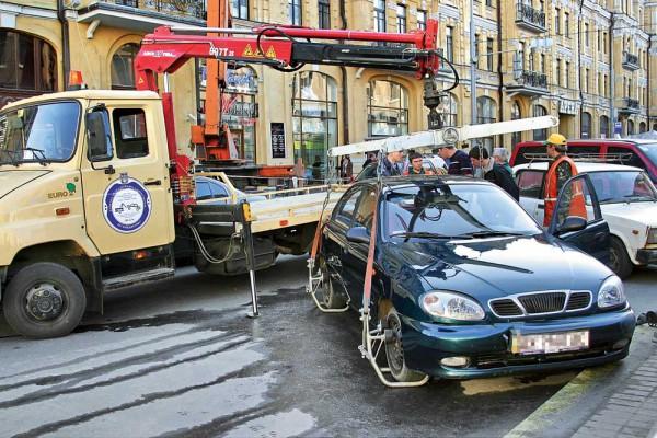 Хозяин машины рискует не увидеть свою машину после эвакуации