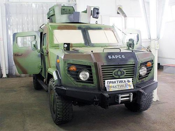 Барс-6 на заводе Практика