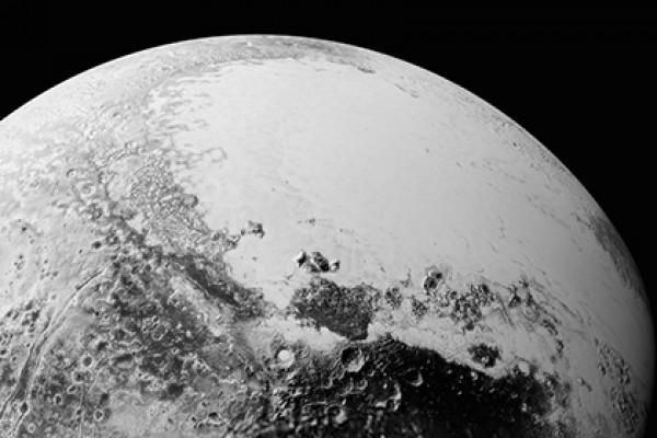 На Плутоне разглядели озера